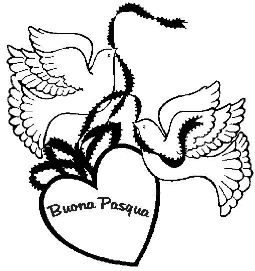 Disegno Da Colorare Buona Pasqua Amore